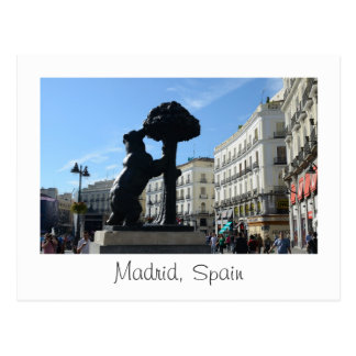 Madrid 2014 Calendar Postcard