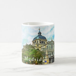 Madrid. Almudena Cathedral. Coffee Mug