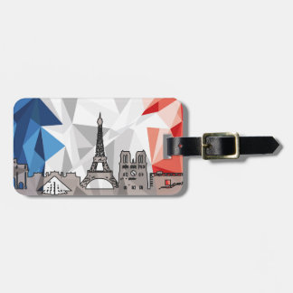 Madrid and Paris Luggage Strap Luggage Tag