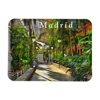 Madrid. Atocha Station. Winter Garden. Magnet