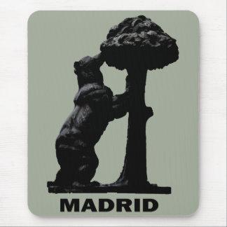 Madrid Bear Mouse Pad