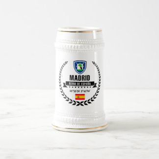 Madrid Beer Stein