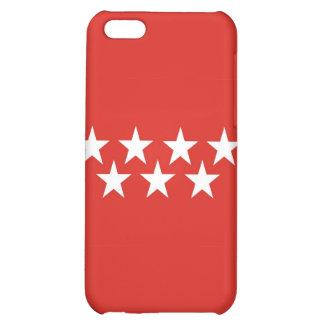 madrid city flag case spain stars iPhone 5C cases