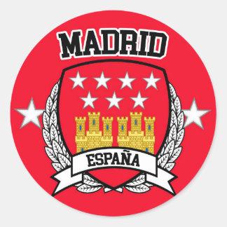 Madrid Classic Round Sticker