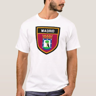 Madrid Flag T-Shirt