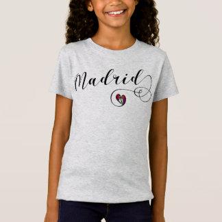 Madrid Heart Tee Shirt, Spain
