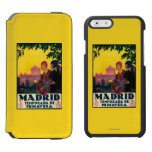 Madrid in Springtime Travel Promotional Poster Incipio Watson™ iPhone 6 Wallet Case