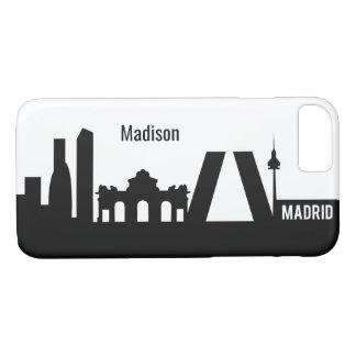 Madrid Landmarks custom name phone cases