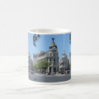 Madrid Metropolis, Budget Tote Magic Mug