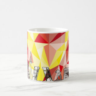 Madrid Skyline Mug
