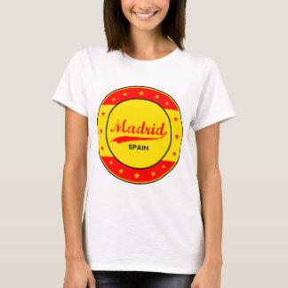 Madrid, Spain, circle, red T-Shirt
