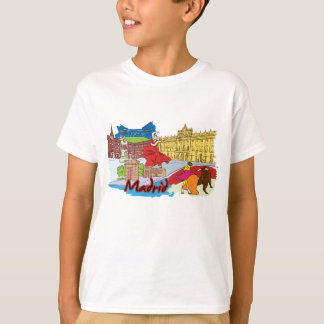 Madrid Spain Famous City T-Shirt