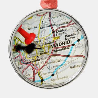 Madrid, Spain Metal Ornament