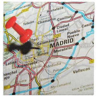 Madrid, Spain Napkin