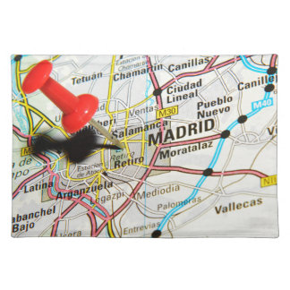 Madrid, Spain Placemat