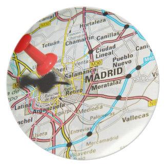 Madrid, Spain Plate