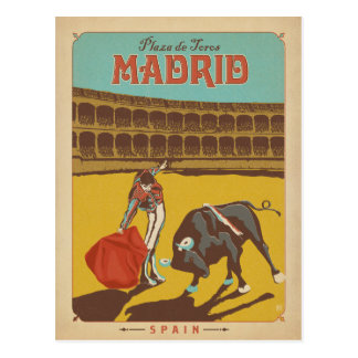 Madrid, Spain Postcard