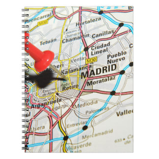 Madrid, Spain Spiral Notebook