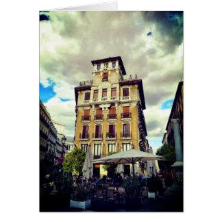 Madrid Spanish Architecture Card