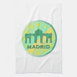 Madrid Tea Towel