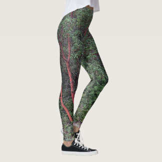 Madrona tree leggings