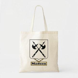 Madsen Family Crest Tote Bag