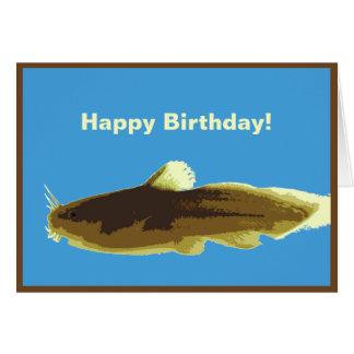 Madtom Catfish Birthday Card