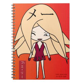 Mae Li Notitieboek Spiral Notebook