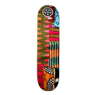 Maeda San Skateboards African Collection