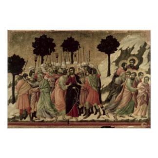 Maesta: Betrayal of Christ, 1308-11 Poster
