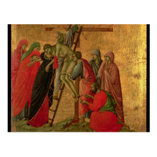 Maesta: Descent from the Cross, 1308-11 Postcard