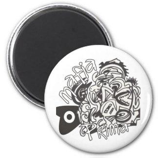Mafia Prima 6 Cm Round Magnet