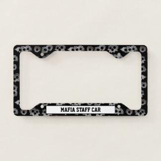Mafia Staff Car Licence Plate Frame