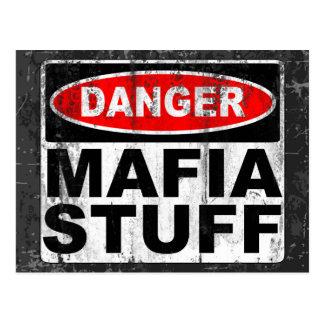 Mafia Stuff Postcard