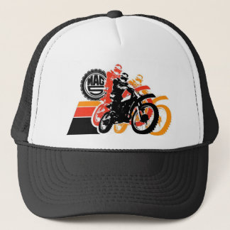 Mag 5 - Yellow, Orange, Black Attack Trucker Hat