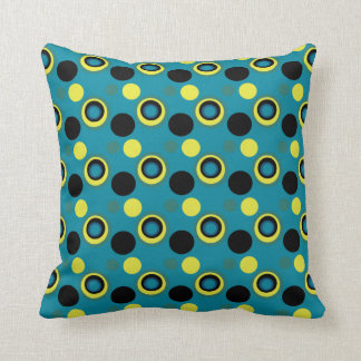 Mag Green Multi Spotted Cushion
