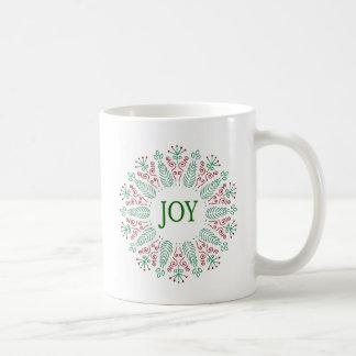 Mag with Christmas Round design Coffee Mug