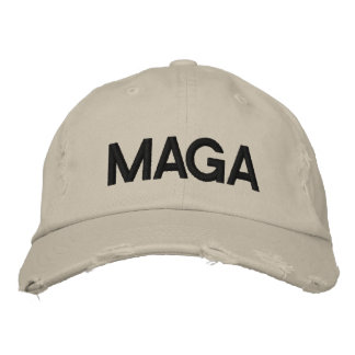 MAGA MAKE AMERICA GREAT AGAIN EMBROIDERED HAT