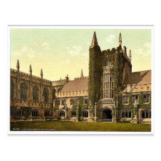 Magdalen College, Founder's Tower and Cloisters, O Postcard