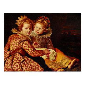 Magdalena and Jan-Baptist de Vos Postcard