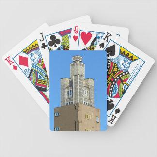 MAGDEBURG, Albinmüller-Turm Bicycle Playing Cards