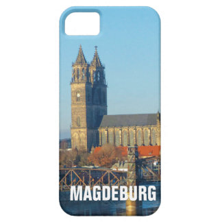 Magdeburg Cathedral with river Elbe 01.2.T iPhone 5 Covers