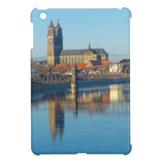 Magdeburg Cathedral with river Elbe 01 iPad Mini Cases