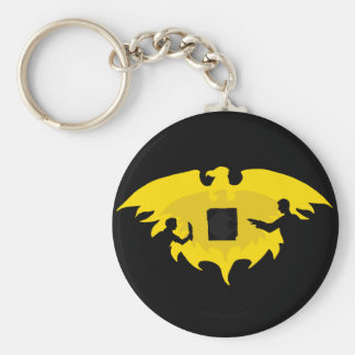 Mage, Thief, and Dayhawk Basic Round Button Key Ring