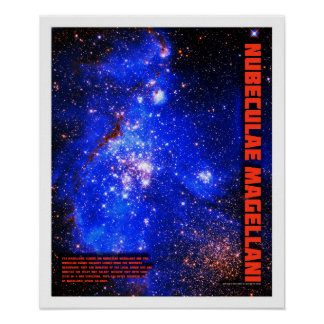 Magellanic Clouds Poster
