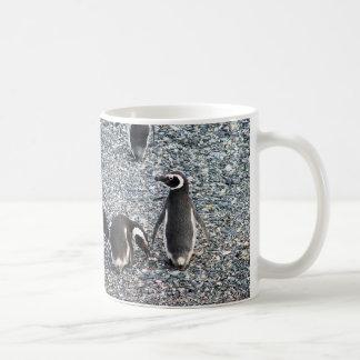 Magellanic Penguins, Beagle Channel, Patagonia Coffee Mug