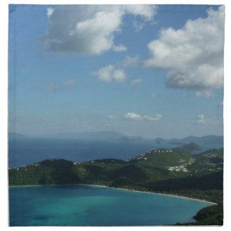 Magens Bay, St. Thomas Beautiful Island Scene Napkin