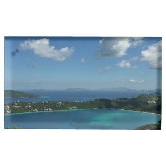 Magens Bay, St. Thomas Beautiful Island Scene Place Card Holder