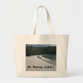 Magen's Bay, St. Thomas Jumbo Tote Bag