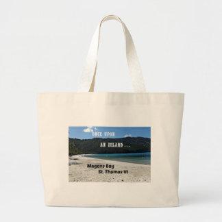 Magens Bay, St. Thomas VI Large Tote Bag